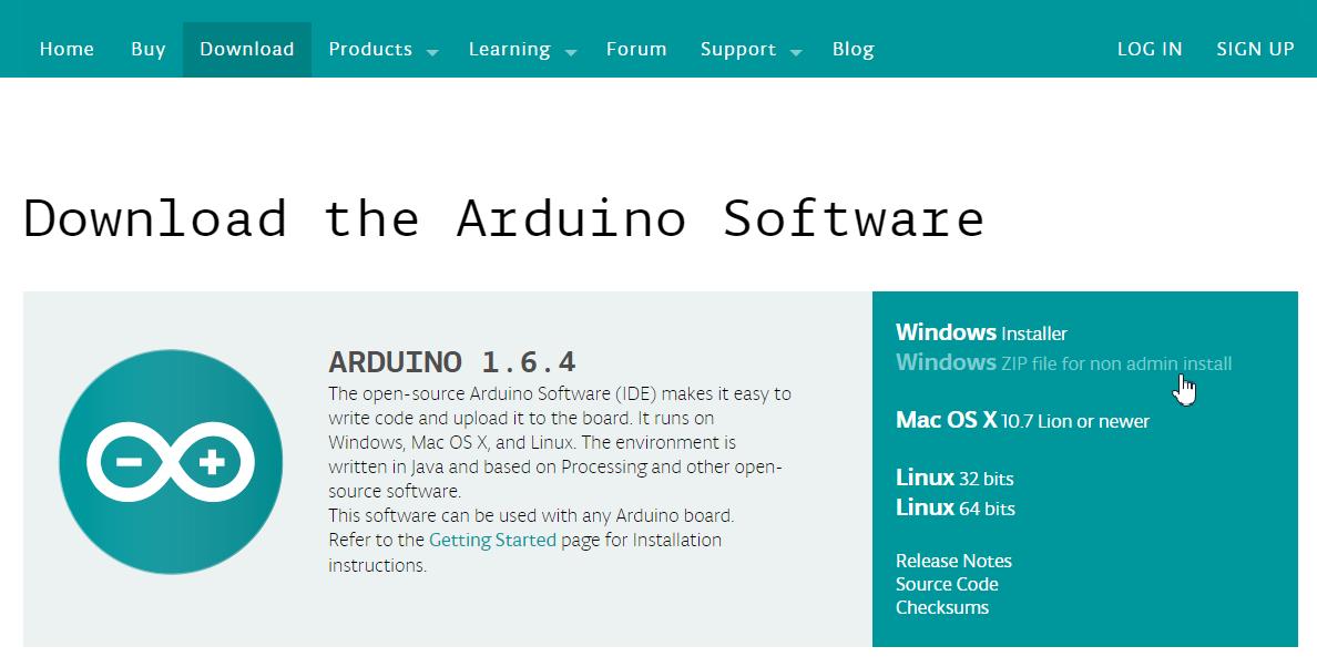 Cài đặt driver và Arduino IDE 1