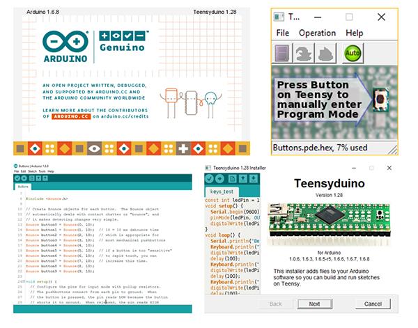Arduino IDE và Teensyduino